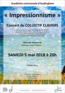 """Concert du Collectif Clavier """"L'impressionnisme"""""""