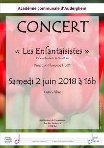"""""""Les Enfantaisistes"""", chœur des 8-12 ans, en concert"""