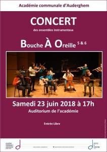 """Les ensembles """"BAO5 et BAO6"""" en concert"""