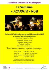 Semaine Acajou'e Noël (1)