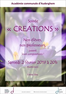 Soirée CRÉATIONS