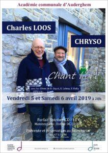 Chryso et Charles Loos en concert avec nos étudiants
