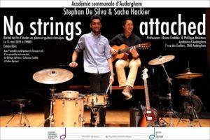 Récital de fin d'études : Guitare (Sacha) et Piano (Stephan)