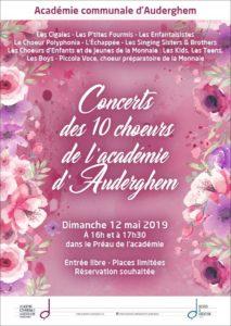 Concert des 10 chœurs de l'académie !
