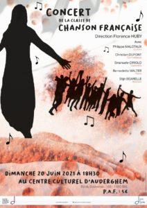 Classe de CHANSON FRANCAISE en Concert @ Centre Culturel d'Auderghem
